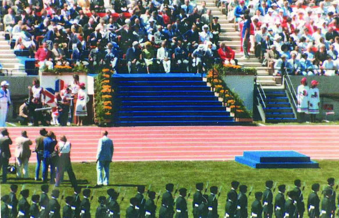1978 commonwealth games sixty years edmonton the. Black Bedroom Furniture Sets. Home Design Ideas